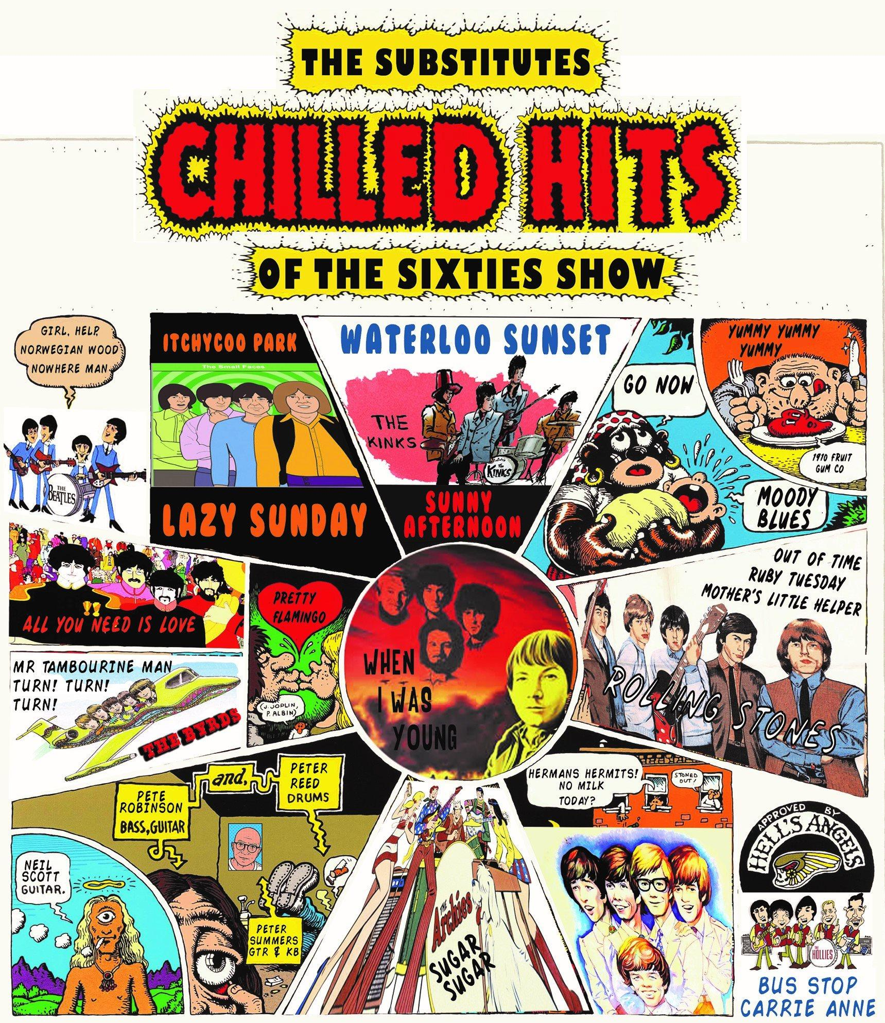 """DINNER & SHOW - The Substitutes """"Chilled Hits"""" Exclusive Show"""