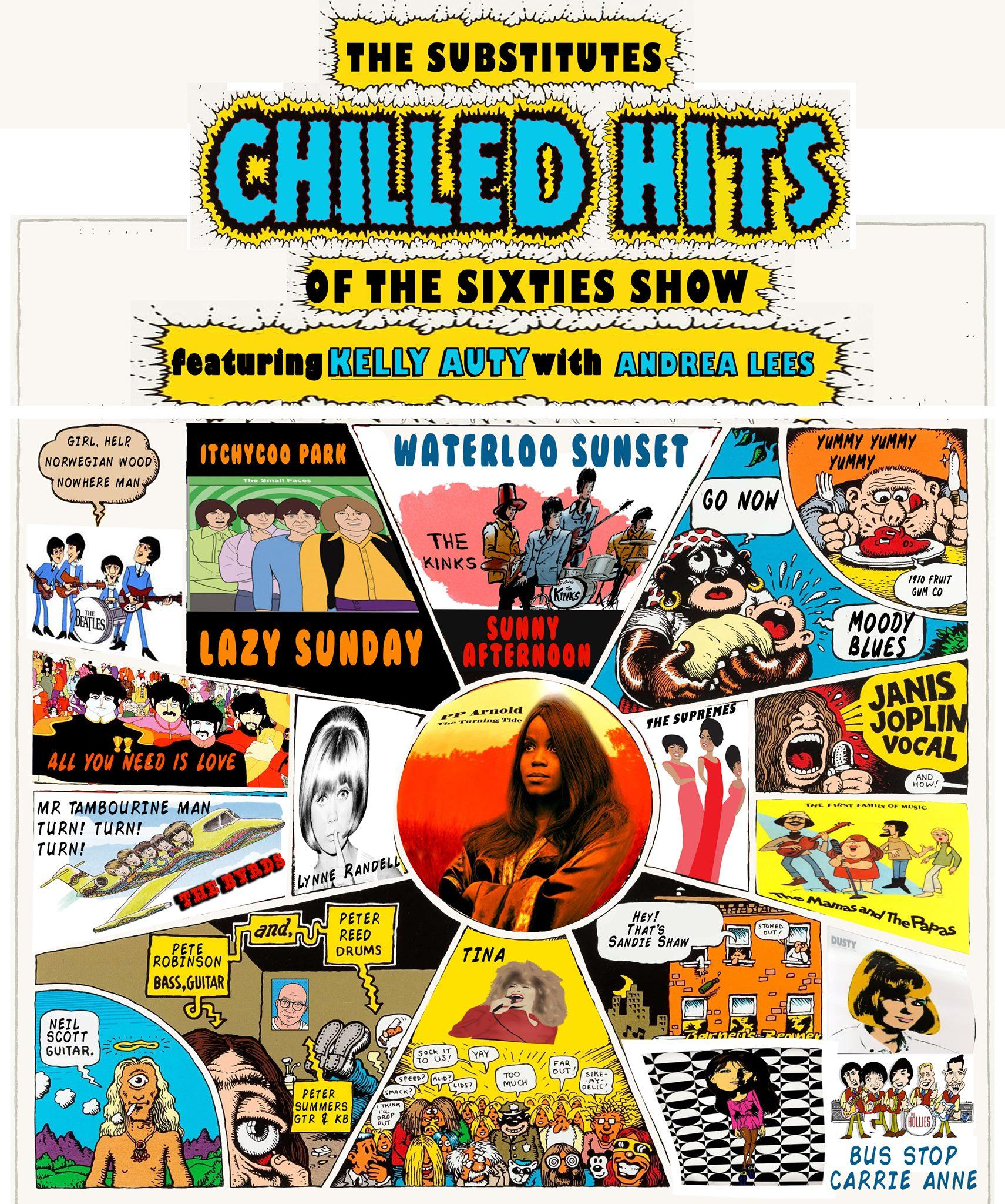 The Substitutes featuring Kelly Auty- Chilled Hits Of The 60's - Dinner & Show