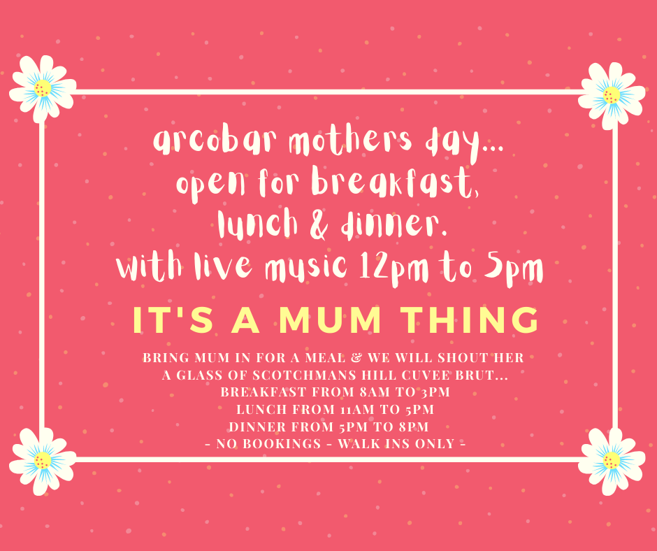 MOTHERS DAY AT ARCOBAR
