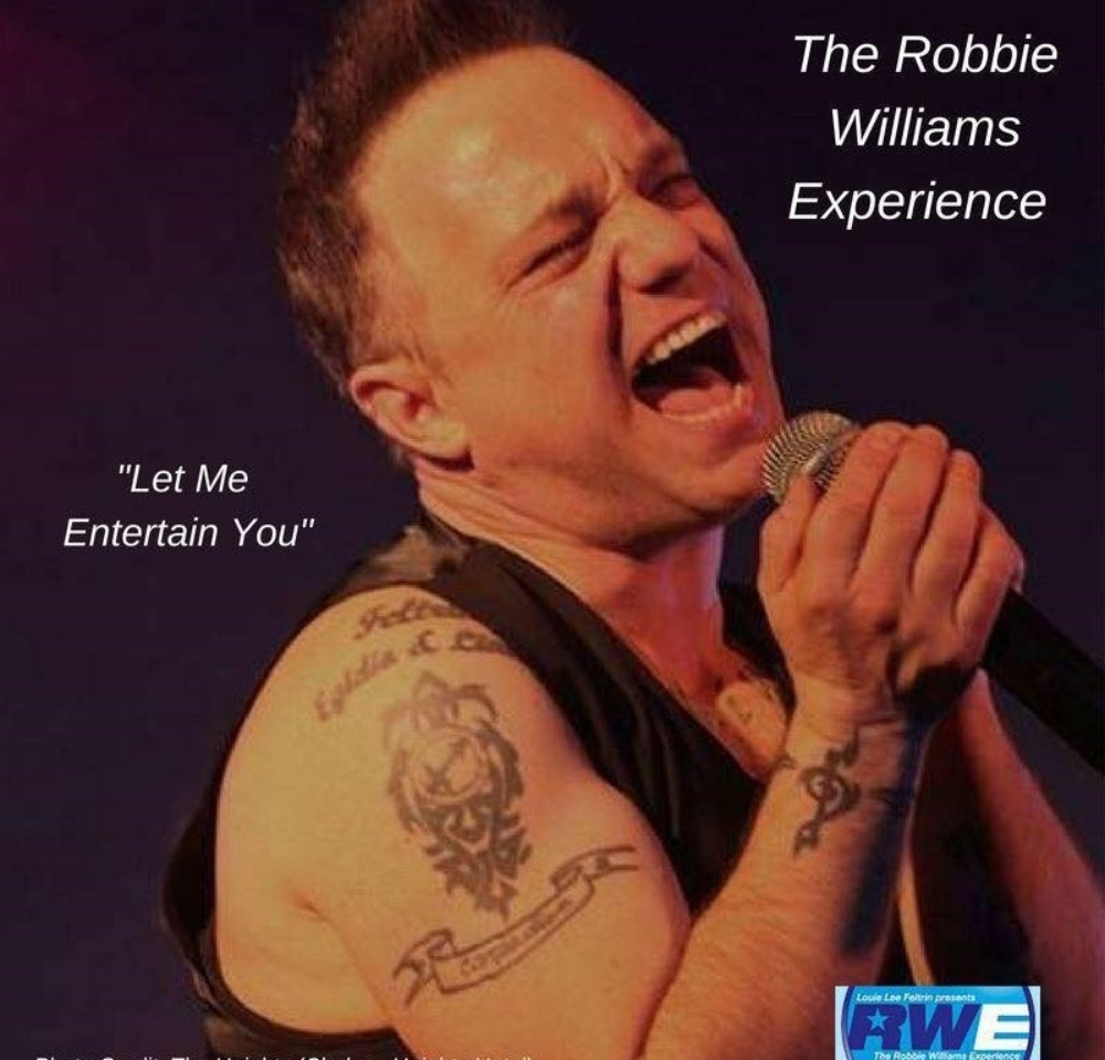 The Robbie Williams Experience - Full Band Dinner & Show!