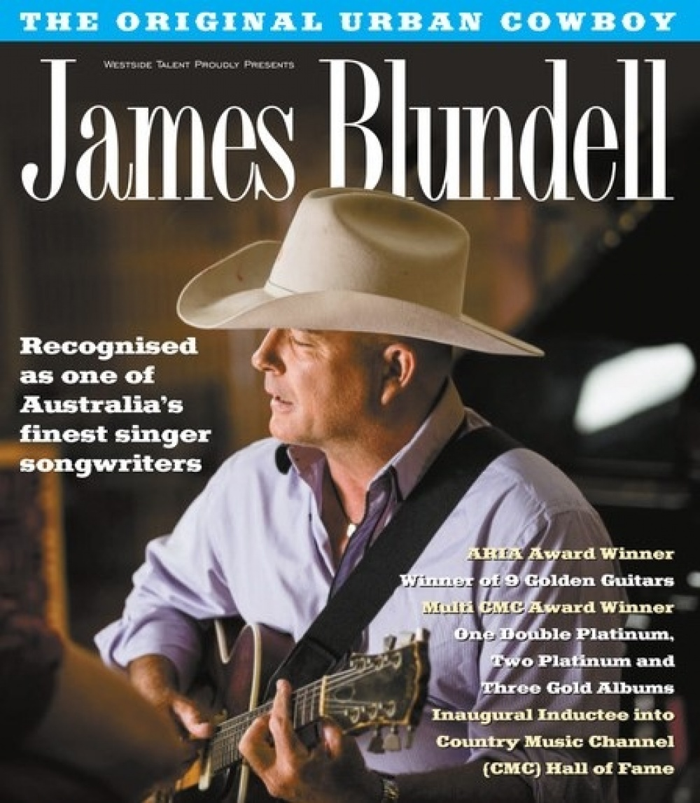 James Blundell - The Original Australian Country Music Icon - Exclusive Dinner & Show