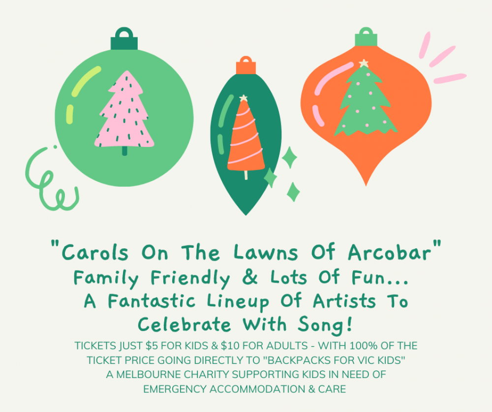 3rd Annual Carols On The Lawn - A Great Family Friendly Event!