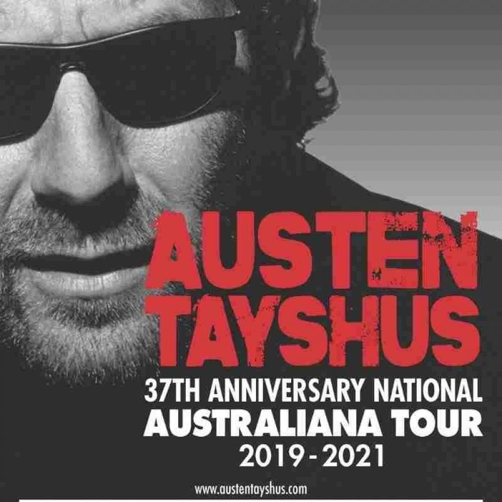 AUSTEN TAYSHUS - 37TH ANNIVERSARY OF AUSTRALIANA - EXCLUSIVE MELBOURNE DINNER & SHOW