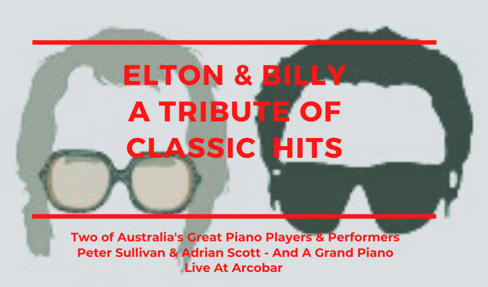 ELTON & BILLY - A Night Of Classic Hits - On The Grand Piano