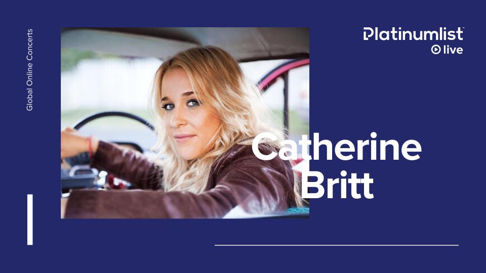 CATHERINE BRITT - EXCLUSIVE DINNER & SHOW